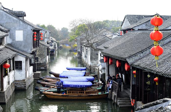 周庄 富安橋遠景